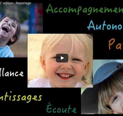 Reportage d'Itinérance Films lors de la 2ème édition du festival pour l'école de la vie