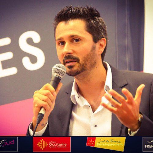 Julien Peron en conférence à Connec'sud