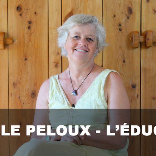 Isabelle Peloux, l'école du colibri