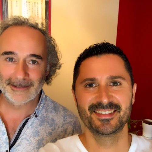 Julien Peron et Arnaud Riou