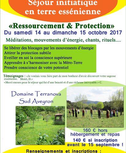 Séjour ressourcement et protection en Aveyron