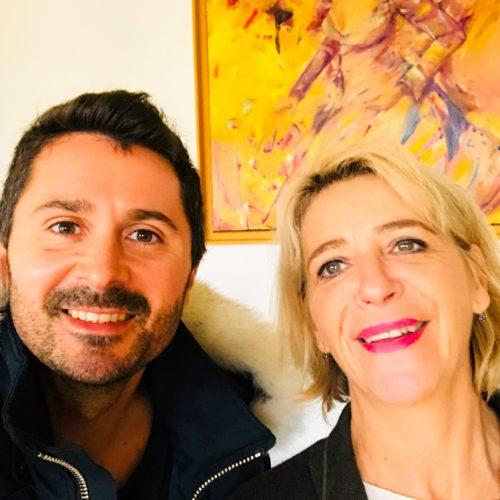 Julien Peron et Anne-Marie Gaignard