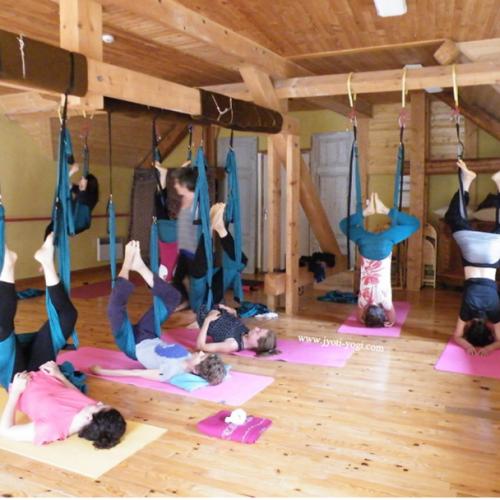 Yoga aérien et rando montagne, 8-14 juillet 2018